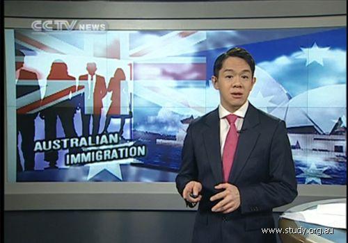 澳大利亚教育联盟孙老师受邀央视谈澳洲移民课程