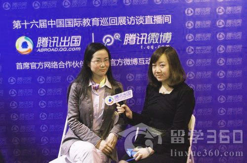 王梓嘉接受腾讯留学频道专访:马来西亚适合工薪阶层留学