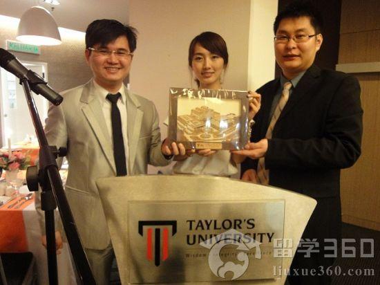 马来西亚教育联盟喜获2010年泰莱大学最大国际代表处称号