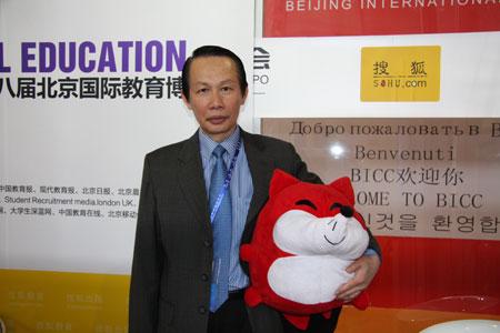 第八届北京国际教育博览会《搜狐教育网络直播间》:马来西亚驻华大使馆教育参赞 蔡志明做客