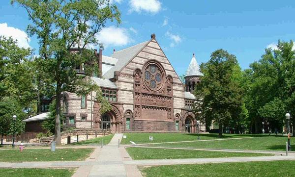 普林斯顿大学校园景色