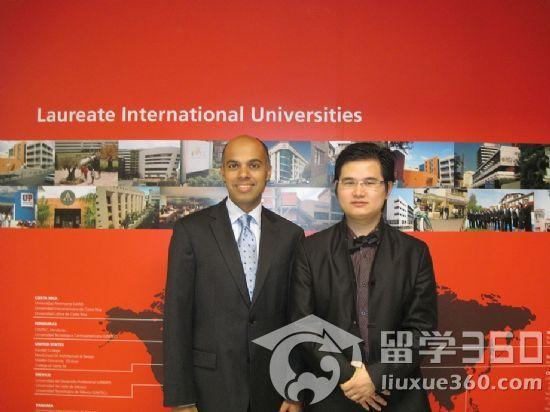 360教育集团董事长罗成先生访问劳瑞德国际大学联盟亚洲中心