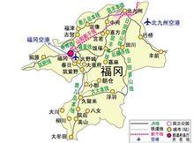长途巴士连接福冈与九州的各个城市以及其它日本大城