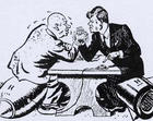 赫鲁晓夫和肯尼迪在古巴导弹危机中较劲
