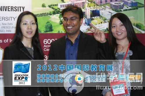 印度拉夫里科技大学校方代表专访:今年是第一年来中国招生