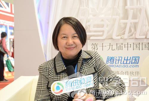 澳大利亚驻华理事徐佩仪:充分提供澳洲留学资讯