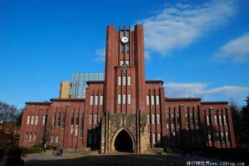 日本前30名大学排名