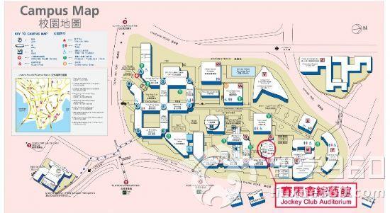 香港中文大学地图