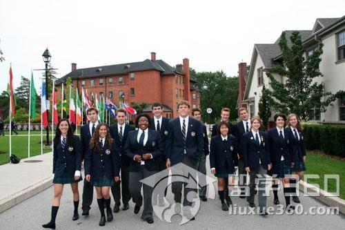加拿大高中留学-留学关键词--留学360广水v高中高中蔡洁图片