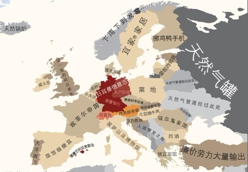 俄罗斯的芬兰人以外,北欧人对其他欧洲国家的人并不
