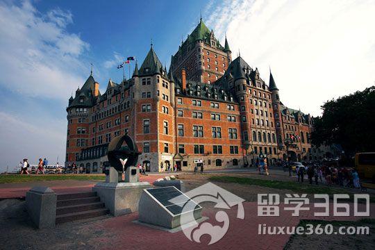 夏季出国避暑不妨考虑加拿大魁北克市