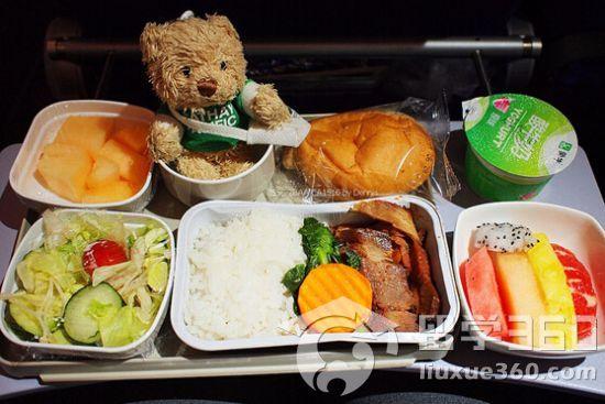 盘点各大国际航空公司的精美餐食