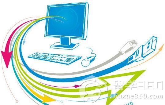 电脑信息矢量图