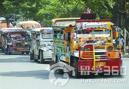菲律宾的特色交通工具吉普尼