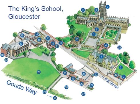 国王学校(格洛斯特)
