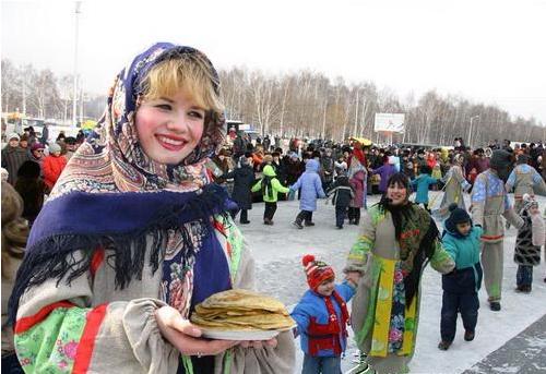 传统的节日在俄罗斯怎么过?
