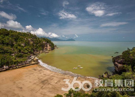 砂拉越的Telok Pandan海滩