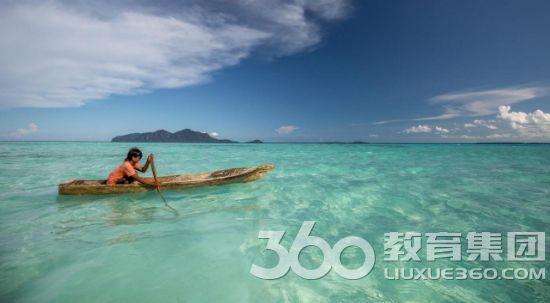 沙巴州的Sibuan岛