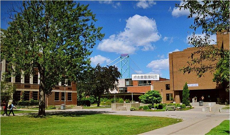 加拿大留学:温莎大学位置和校园环境