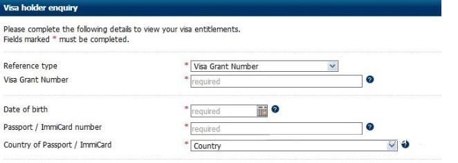 如何自己网上查询澳洲留学签证状态