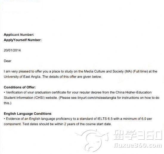 专业指导 精准定位――UEA传媒专业硕士申请故事