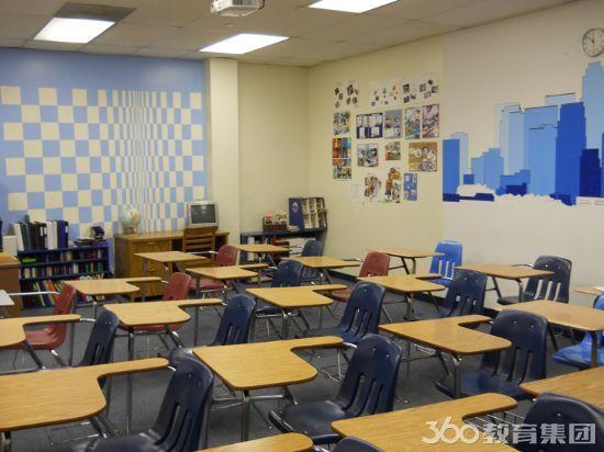 洛杉矶康考迪亚高中现代化院校-高中关键词设施西格办图片