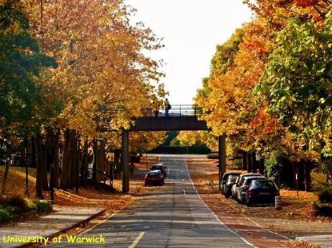 英国大学校园的秋天原来这么美