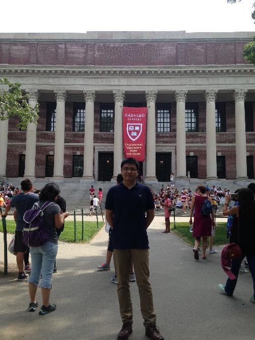 参观考察美国哈佛大学