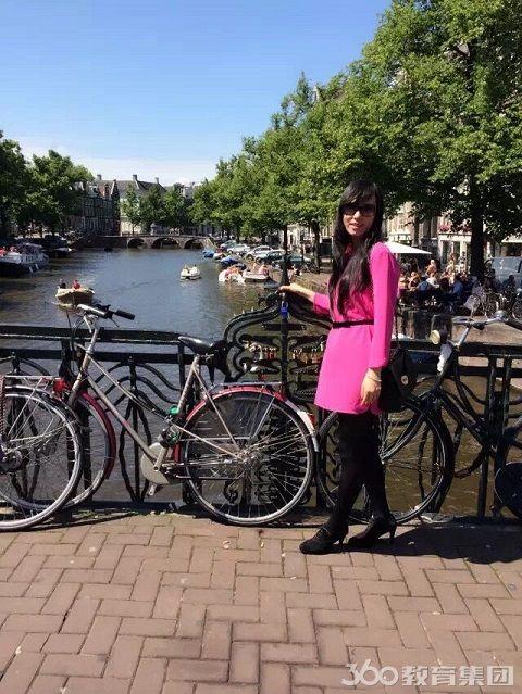 阿姆斯特丹运河街拍