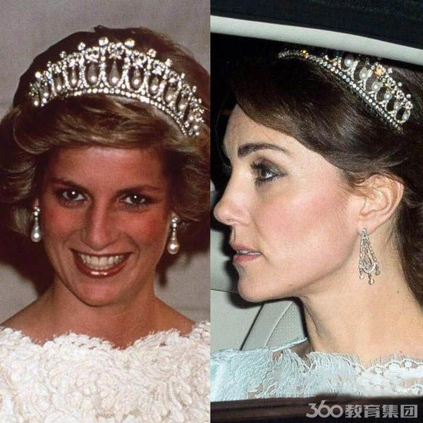 英国皇室王妃着装神似 凯特pk戴安娜谁更美?