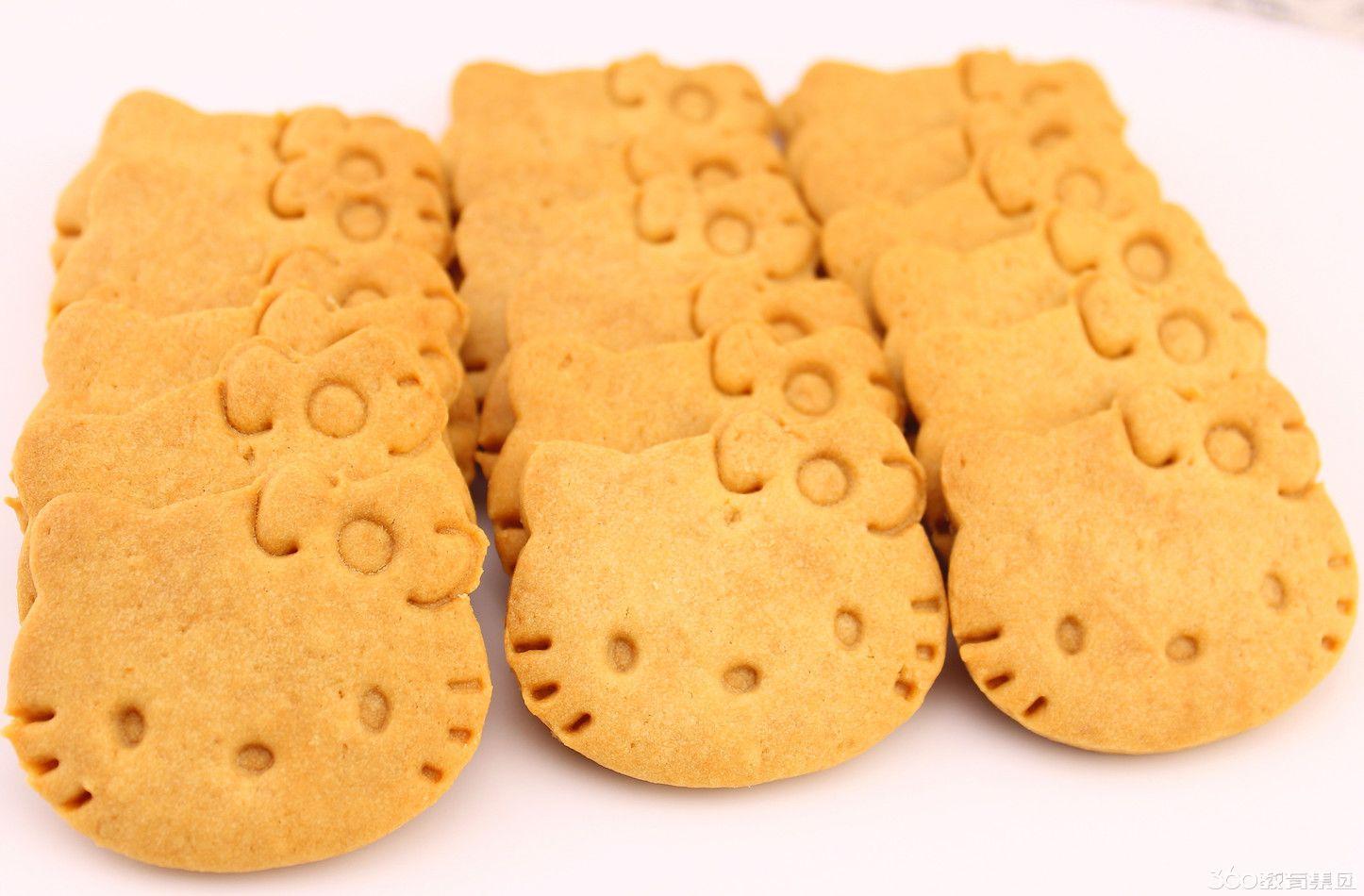 可爱简易饼干造型