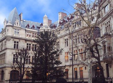巴黎政治学院院系设置