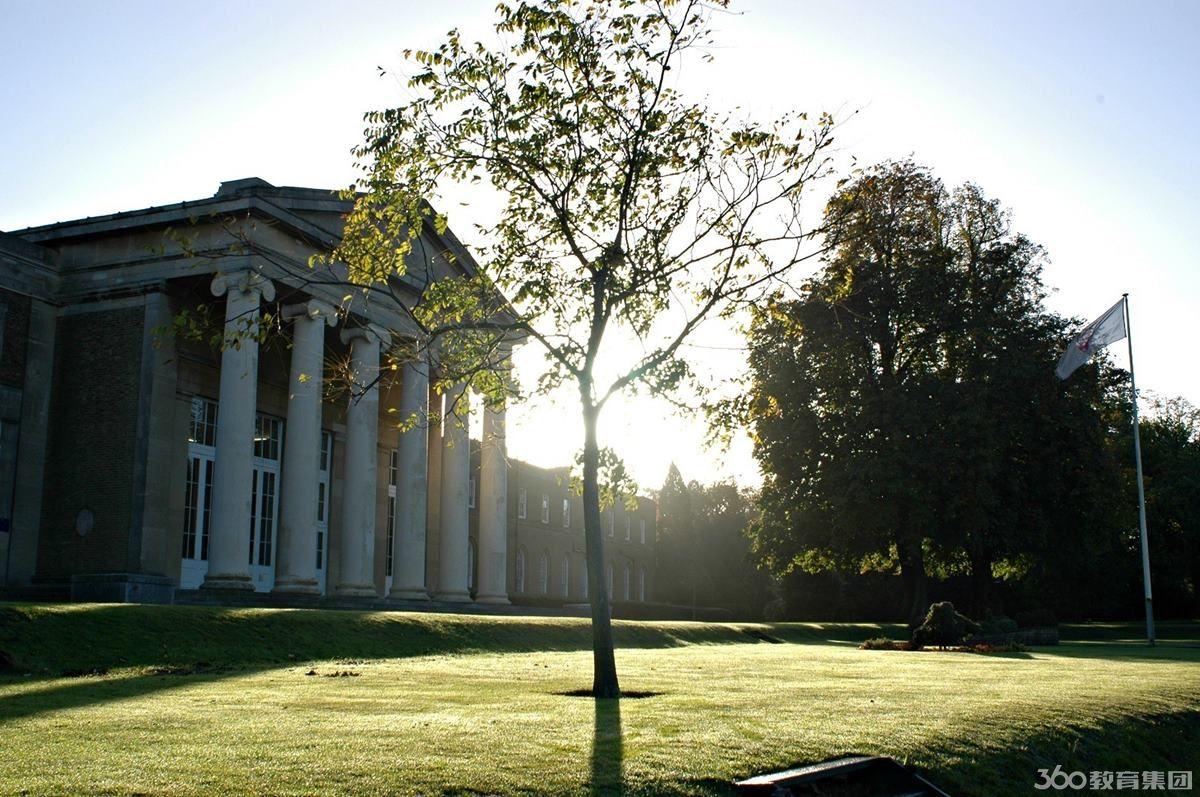 英国米尔希尔学院风景照