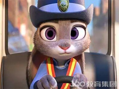 《疯狂动物城》里的动物们用英文怎么说?