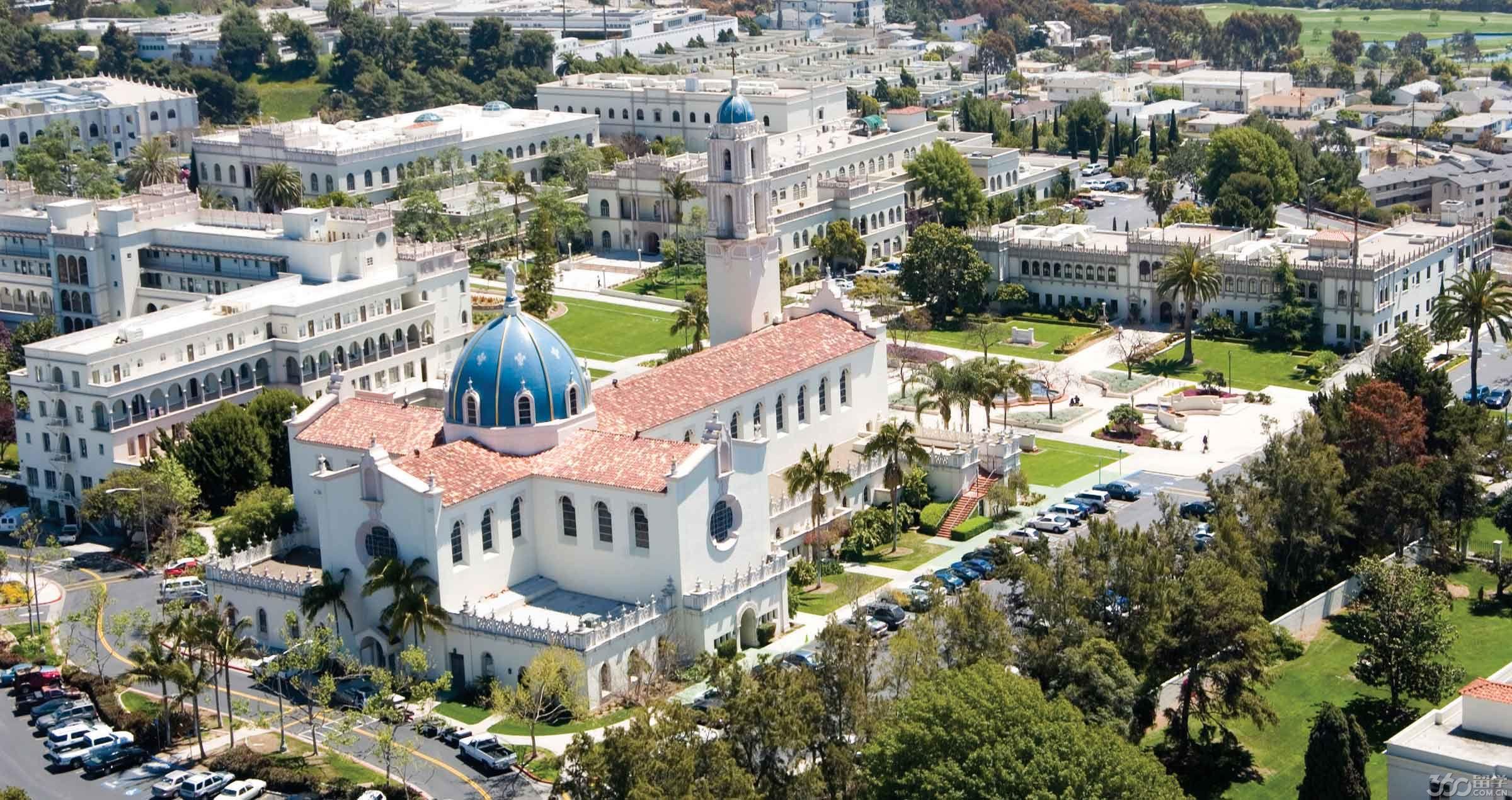 美国学校风景图片