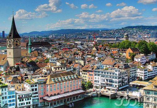 瑞士留学研究生费用