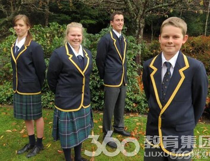 新西兰留学读中学:瓦尔蒂普中学位于风景名胜女王城