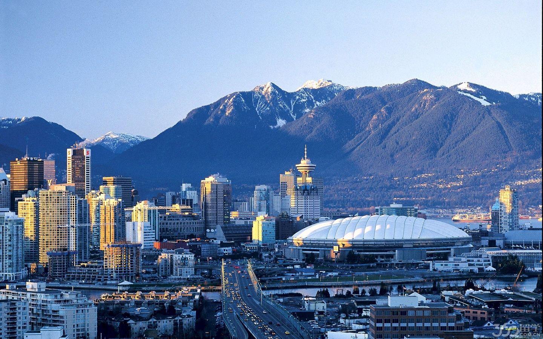 加拿大滑铁卢城市风景