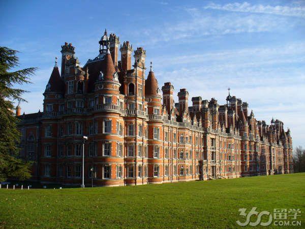 伦敦大学皇家霍洛威学院本科申请