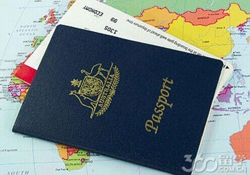 澳洲留学护照