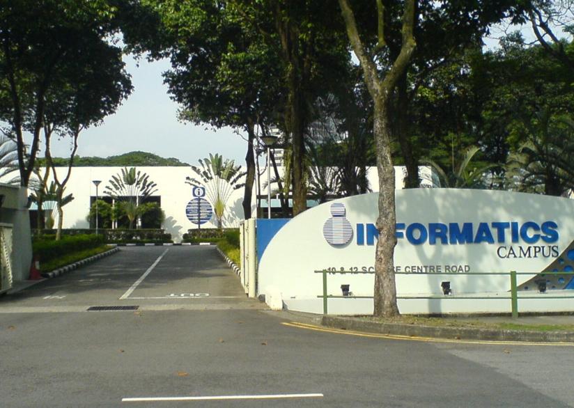 新加坡英华美学院网游动画专业