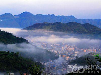 务川县位于贵州省