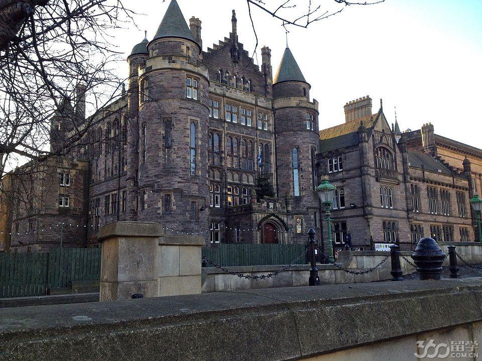 2017年爱丁堡大学学科设置