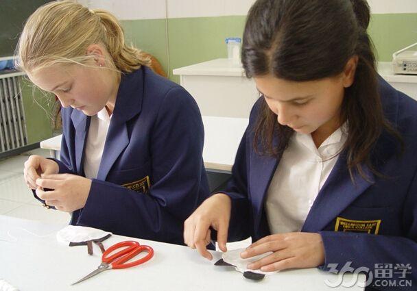 2017年新西兰惠灵顿东方女子手表免费留学-新款高中高中生女士图片