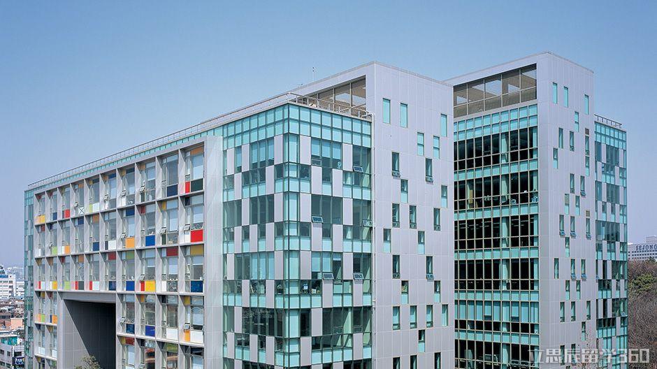 2017年韩国建国大学图书馆