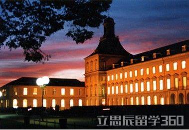 德国波恩大学地理和建筑风格特色