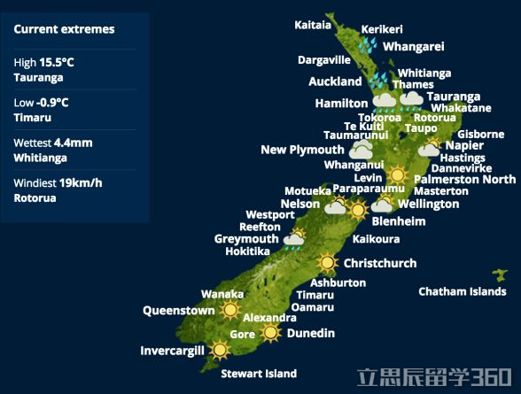 留学签证新西兰