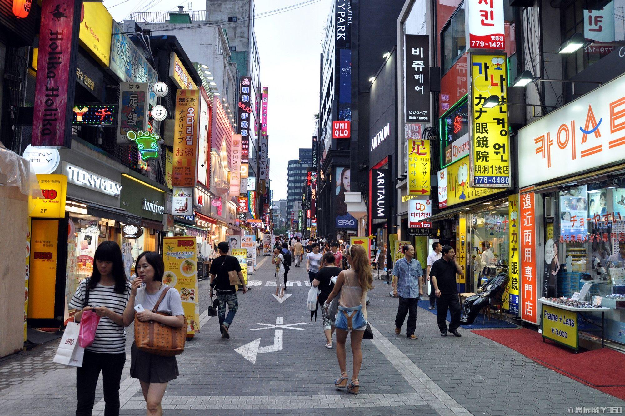 韩国留学:留学打工机会很多