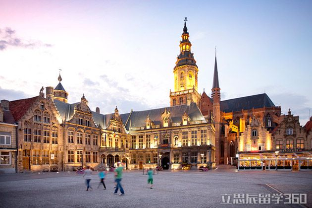 比利时留学:根特大学院系设置的概况