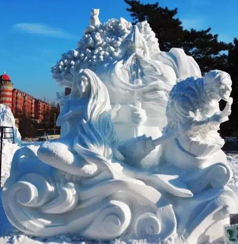 国际冰雪节大赛,提前看远东联邦大学学生作品!